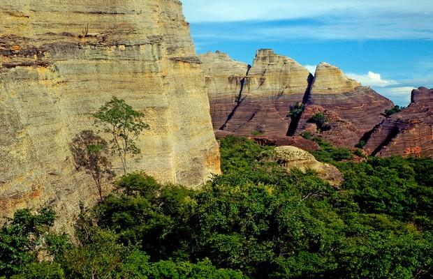 Parque Nacional Serra da Capivara, no Piauí (Foto: Augusto Pessoa/Wikipédia)