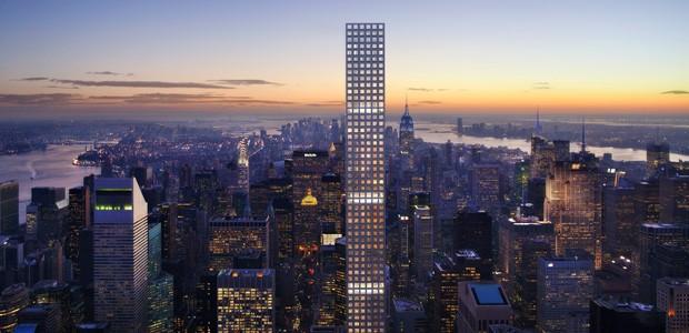 Imagem mostra como deve ficar o edifício após a conclusão (Foto: Dbox for CIM Group & Macklowe Properties)
