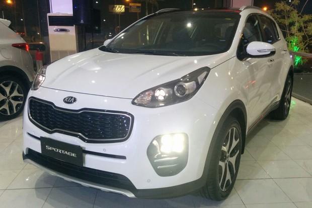 Nova geração do Kia Sportage chega ao Brasil (Foto: Alexandre Izo / Autoesporte)