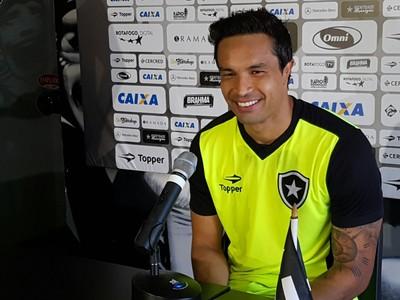 Dudu Cearense Botafogo (Foto: Marcelo Baltar)