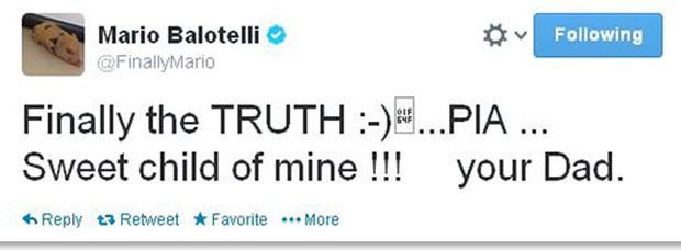 Balotelli Twitter (Foto: Reprodução / Twitter)