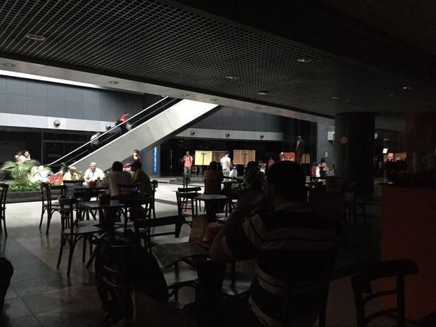chuva aeroporto recife (Foto: Reprodução WhatsApp)