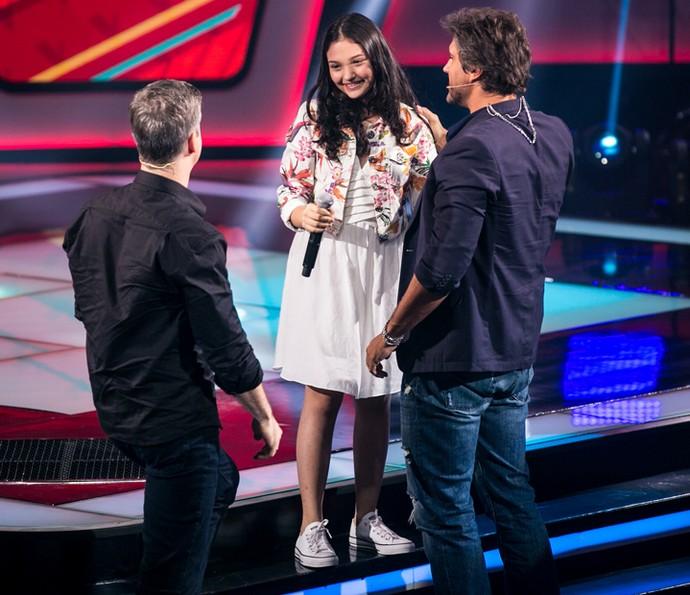 Ana Rosa escolhe time de Victor & Leo (Foto: Isabella Pinheiro/Gshow)