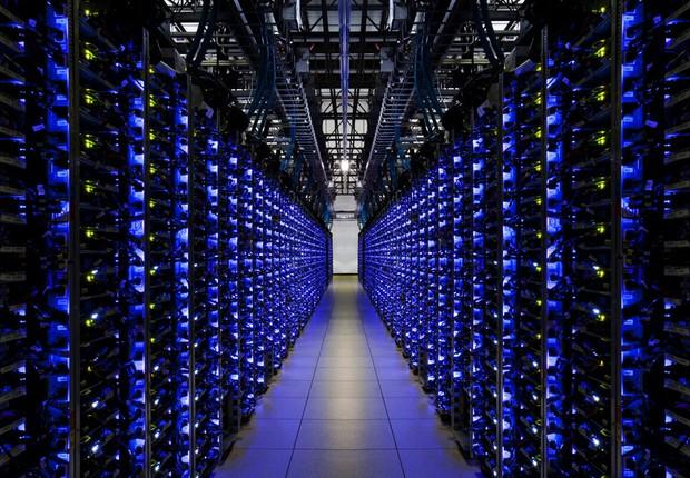 Datacenter do Google ; Big Data ;  (Foto: Reprodução/Facebook )