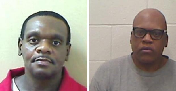 Henry McCollum (esquerda) e Leon Brown, em foto divulgada pela da polícia do estado americano da Carolina do Norte (Foto: Reuters)