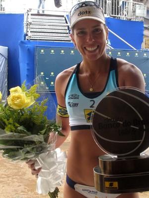 Lili vôlei de praia (Foto: Tulio Moreira)