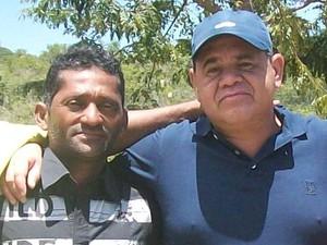 Deputado Jânio Xingu ao lado de Jefferson Costa de Souza (Foto: Arquivo pessoal)