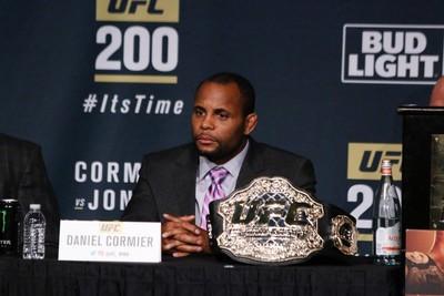 Daniel Cormier Coletiva UFC 200 (Foto: Evelyn Rodrigues)