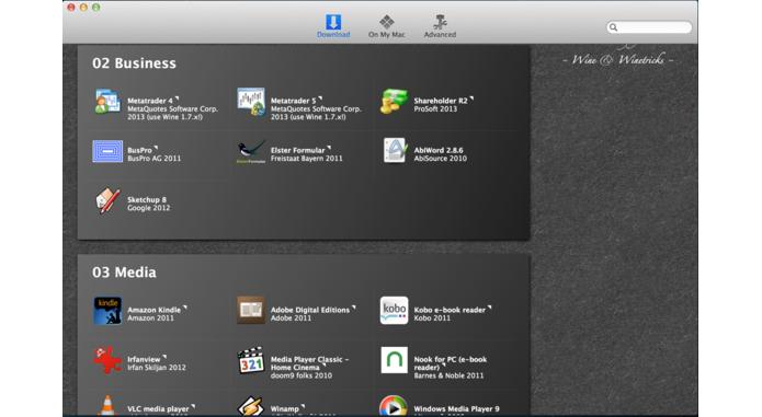 WineBottler roda programas do Windows no Mac (Foto: Reprodução/PCWorld)
