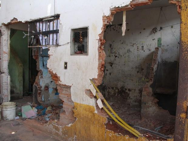 Casa de Detenção de São Luís ficou depredada após rebelião no início de outubro (Foto: Divulgação/Ascom/Sejap)