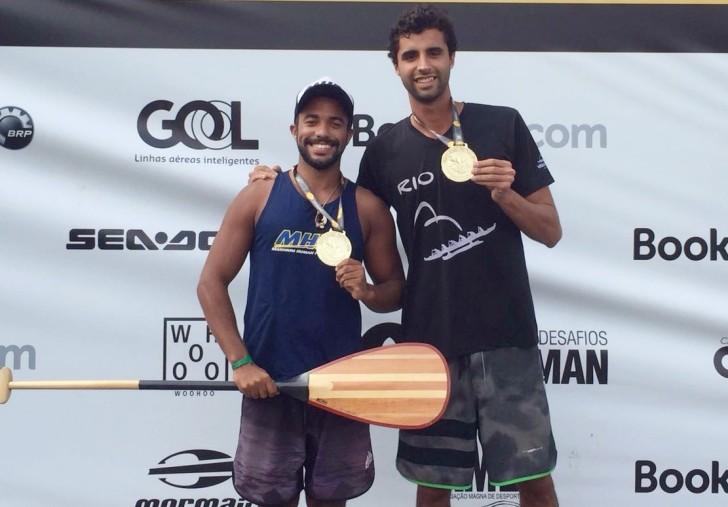 Alef Alves e Igor Lourenço