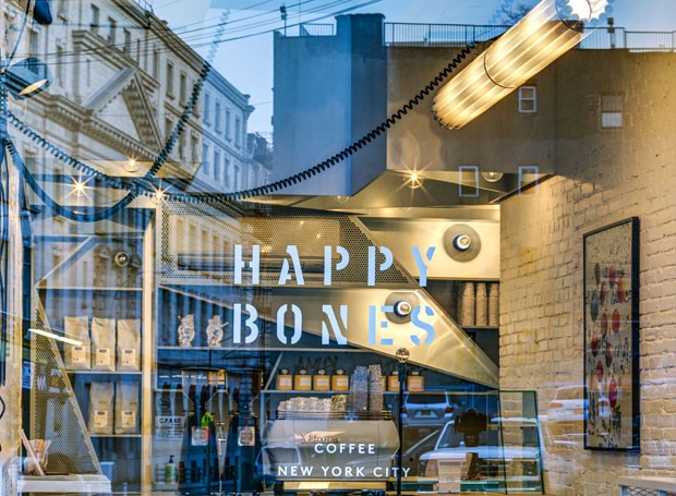 Happy Bones, New York City // Design by Ghislaine Viñas Interior Design and UM Project // 2014 (Foto: Francis Dzikowski / divulgação)