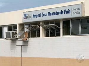 Hospital Menandro de Faria (Foto: Reprodução/TV Bahia)