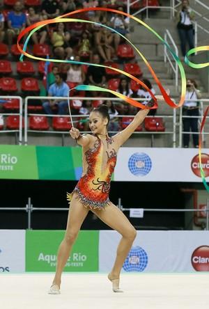 Conjunto do Brasil no evento-teste (Foto: Ricardo Bufolin/CBG)