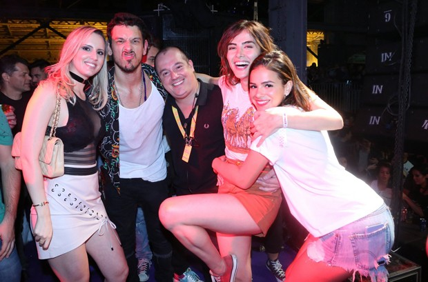 Priscila, Joao Vicente de Castro, Michel Diamant, Maria Casadevall e Bruna Marquezine (Foto: Reginaldo Teixeira/CS Eventos Divulgação)