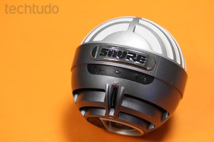 Shure MOTIV MV5 tem três modos de captura de som: voz, instrumentos acústicos e padrão (Foto: Melissa Cruz / TechTudo)