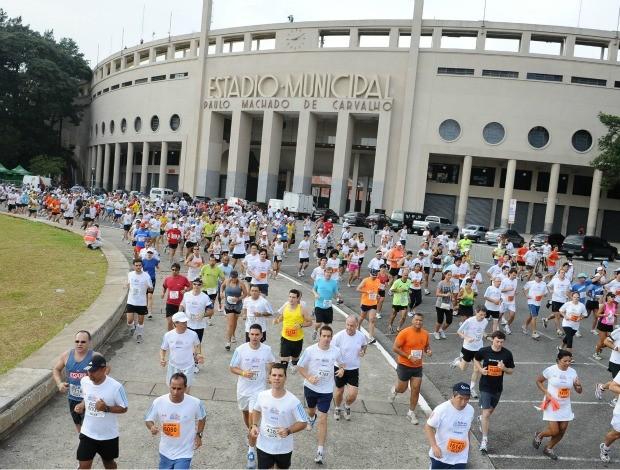 Meia Maratona de São Paulo largada (Foto: Sérgio Shibuya / ZDL)