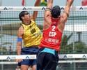 Pedro Solberg/Bruno e Ricardo/Álvaro vencem seus dois jogos em Xangai