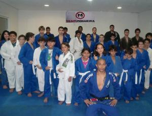 Projeto social de jiu-jítsu em Cuiabá Mato Grosso (Foto: Divulgação)