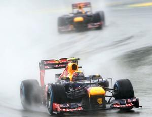 Mark Webber no treino classificatório do GP da Alemanha (Foto: Getty Images)
