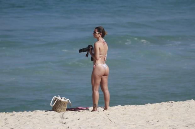 Mulher de Mario Frias  (Foto: Dilson Silva)