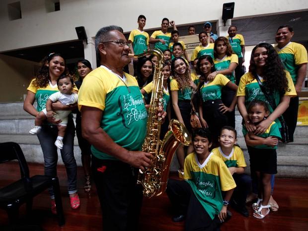 Bandas de Música de oito municípios do Pará receberam instrumentos nesta quarta, 19. (Foto: Carlos Sodré /Agência Pará)