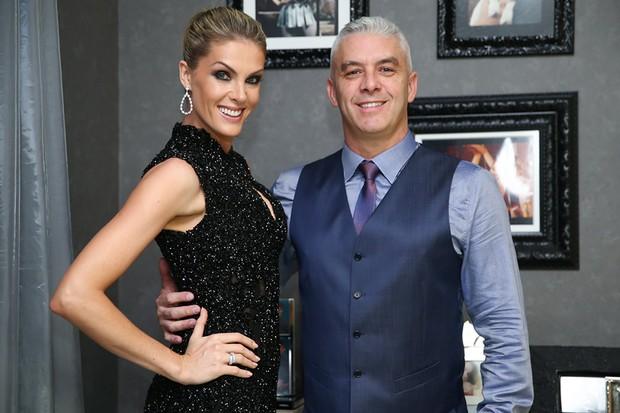 Ana Hickmann com o marido, Alexandre Correa (Foto: Manuela Scarpa/ Brazil News)