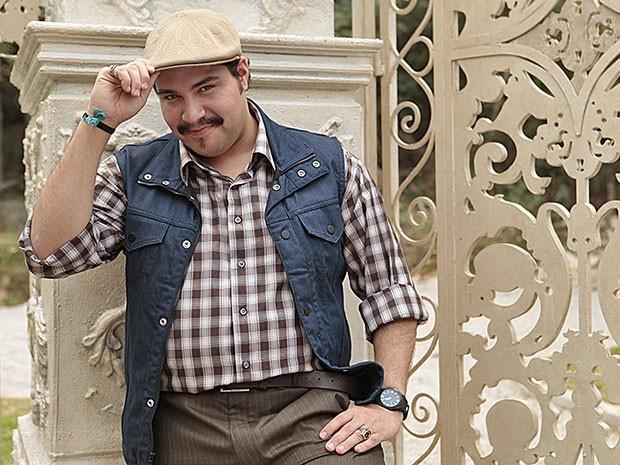 Tiago Abravanel faz sua estreia na TV Globo como Demir (Foto: Salve Jorge/TV Globo)