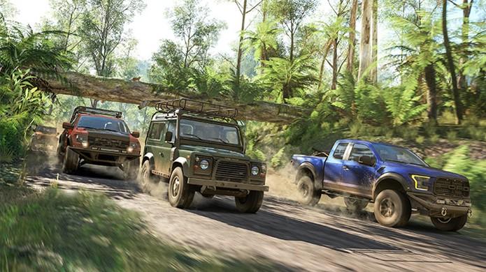 Forza Horizon 3 trará mais de 350 veículos para suas corridas no Xbox One e PC (Foto: Divulgação/Xbox)