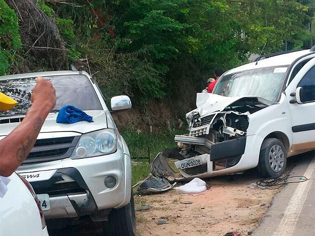 Acidente mata turista de Brasília na região sul da Bahia (Foto: Aurea Catharina/Arquivo Pessoal)