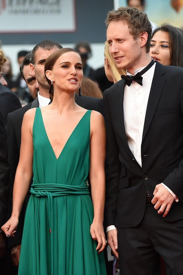 Natalie Portman na première de Scario, no Festival de Cannes (Foto: AFP)