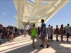 Museu do Amanhã recebe 3,8 mil pessoas na 1ª hora de funcionamento