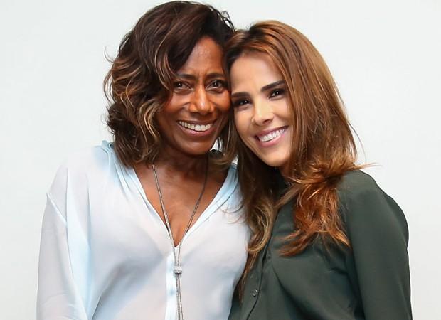 Gloria Maria e Wanessa Camargo (Foto: Manuela Scarpa/Brazil News)