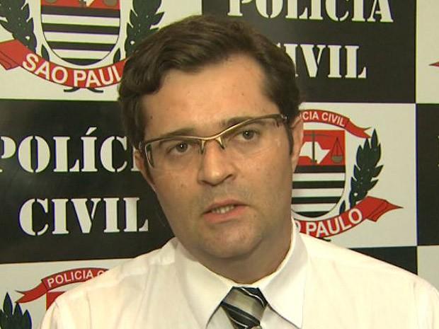 Ricardo Turra, delegado da Polícia Civil, Ribeirão Preto (SP) (Foto: Reprodução/EPTV)