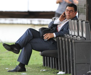 Alírio Moraes presidente Santa Cruz (Foto: Aldo Carneiro/Pernambuco Press)