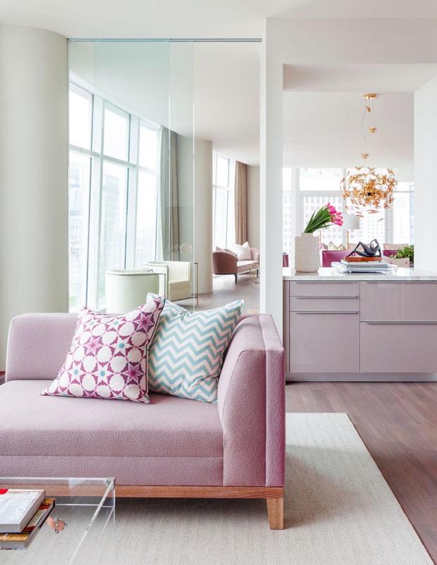 Apartamento feminino em Dallas (Foto: Divulgação)