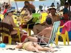 Barracas de praia não podem cobrar aluguel de cadeiras de sol (Orion Pires/G1)