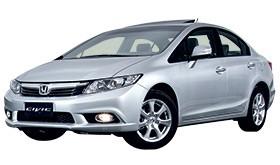 Honda Civic (Foto: Autoesporte)