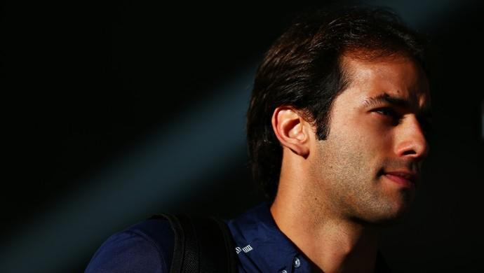 Felipe Nasr na sexta-feira de treinos livres para o GP da Bélgica (Foto: Getty Images)