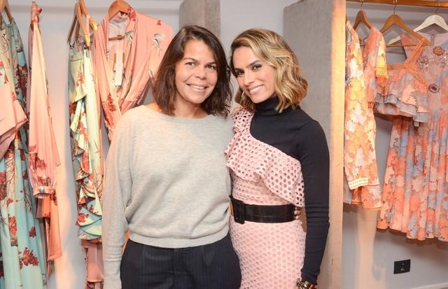 Daniela Falcão e Patricia Bonaldi (Foto: Rodrigo Zorzi)