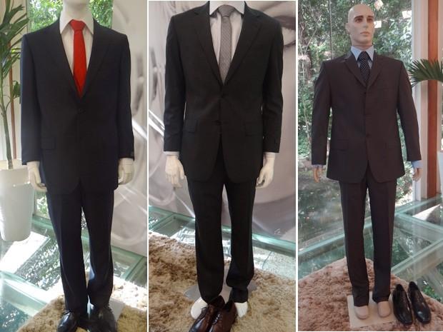 À esquerda, o famoso terno do presidente Barack Obama. Veja também outros exemplos de ternos que estão na moda (Foto: Mais Você/ TV Globo)