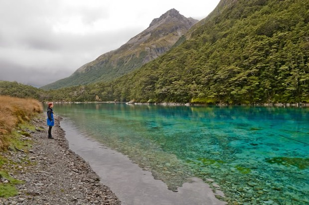 Blue Lake, na Nova Zelândia (Foto: Kathrin & Stefan/reprodução)