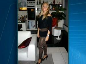 Angelina Filgueiras morreu com um tiro no peito (Foto: Reprodução/TV Globo)