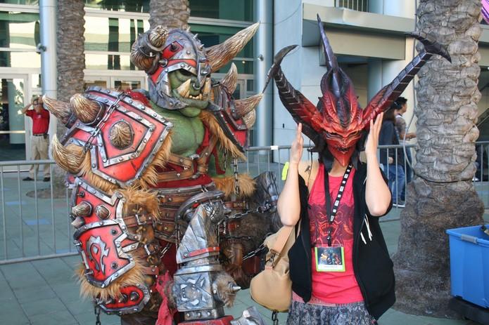 BlizzCon também foi palco de cosplayers (Foto: Felipe Vinha)