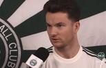 Entrevista com o meia Baumjohann, novo contrato do Coxa