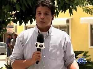 Tony Medeiros traz notícias da região agreste ao vivo (Foto: Reprodução/ TV Gazeta)