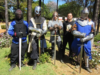 Cavaleiros, competidores de Hema e de HMB (Foto: Isabella Calzolari/G1)