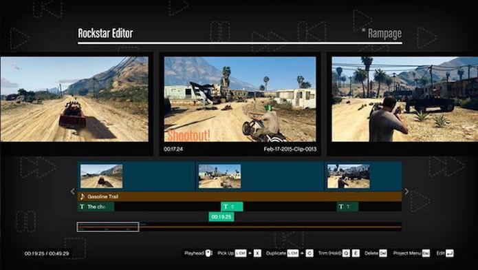 GTA 5: Rockstar Editor chegará a Xbox One e PS4 na próxima atualização (Foto: Divulgação/Rockstar)