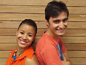 PARANOÁ: Joina Alves, de 24 anos, é bacharel em química e é a dupla de Jocivaldo do Vale, de 23 anos, estudante de comunicação visual. (Foto: TV Globo/reprodução)