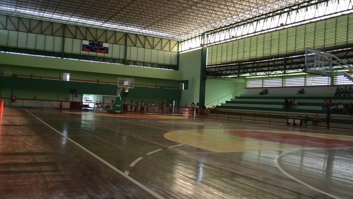 Quadra poliesportiva do Instituto Federal do Amapá (Foto: Karol Aood/GE-AP)